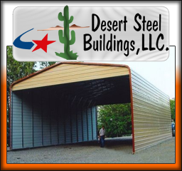 Desert Heat Protection With Steel Building