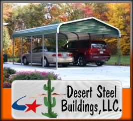 Steel Carports To Protect From Sand